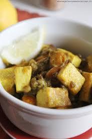Dadolata di tofu e lenticchie...