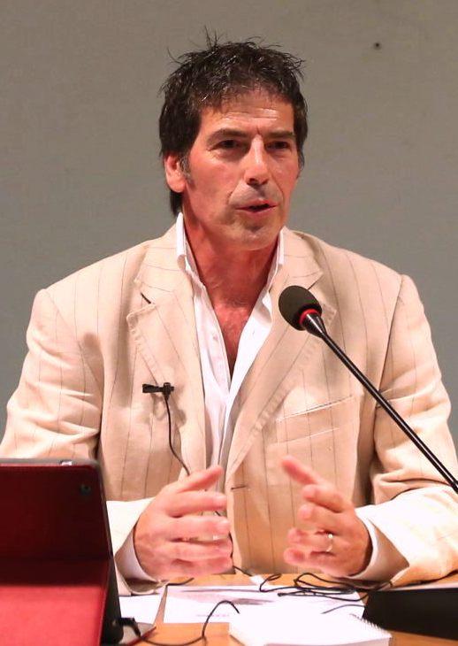 Il coach motivazionale Giancarlo Fornei durante una delle sue conferenze - Ottobre 2014 - Verona