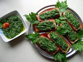 Ricetta Vegana: Bagnetto verde piemontese...