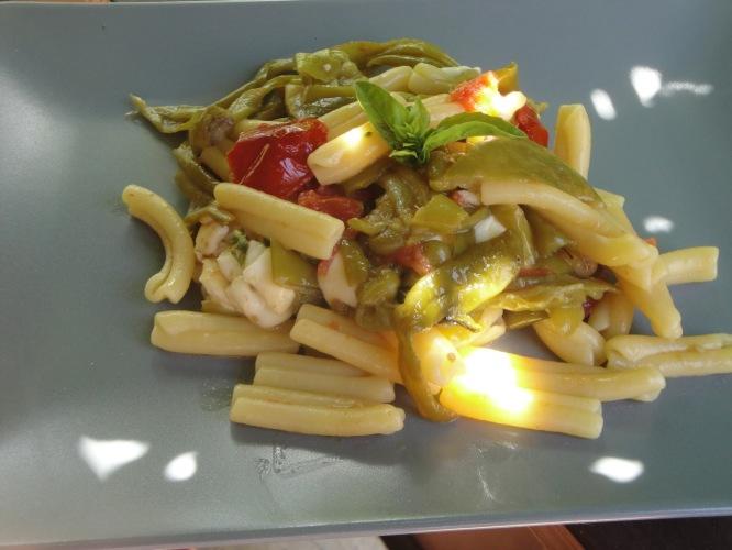 Equilibrio e colore nel piatto...