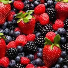 I frutti di bosco per i capillari...