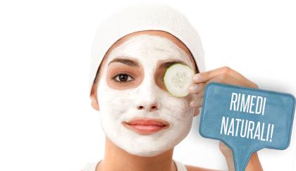 Maschera viso per pelli secche (rimedio naturale)